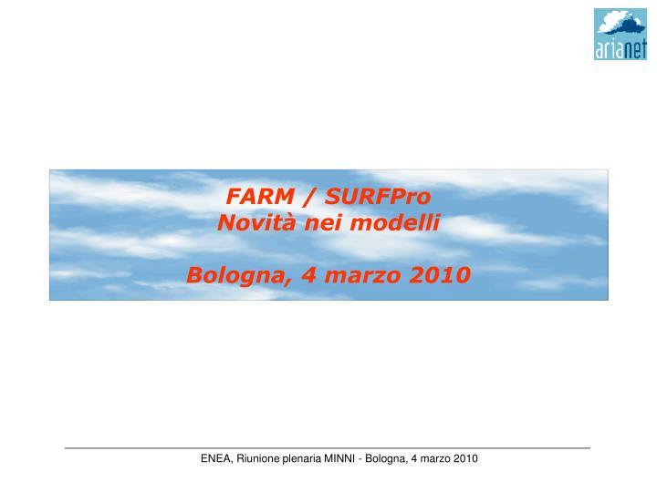 FARM / SURFPro
