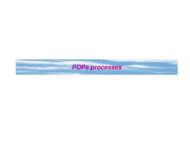 POPs processes