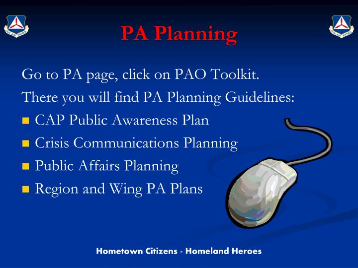 PA Planning