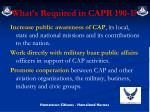 what s required in capr 190 1