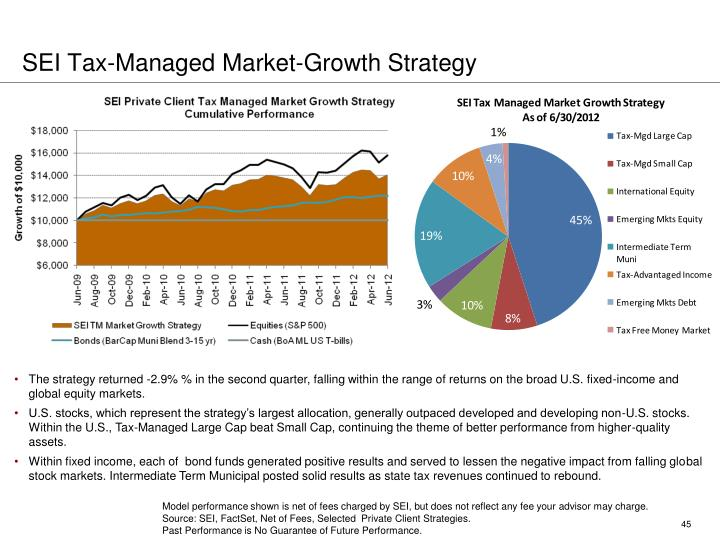 SEI Tax-Managed Market-Growth Strategy