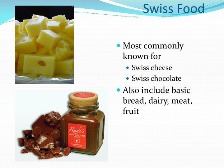 Swiss Food