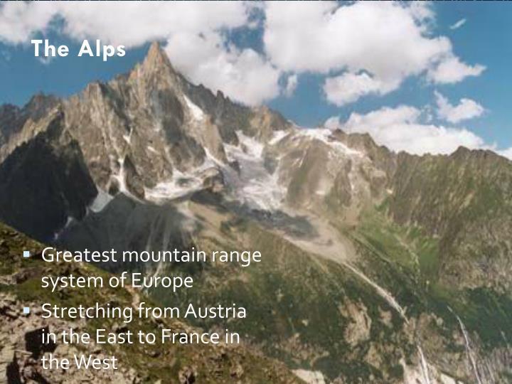 The Alps