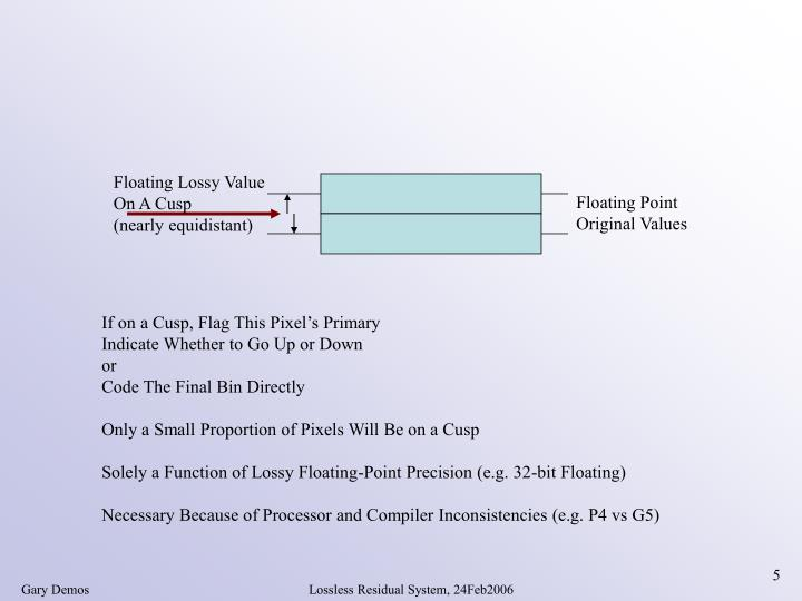 Floating Lossy Value