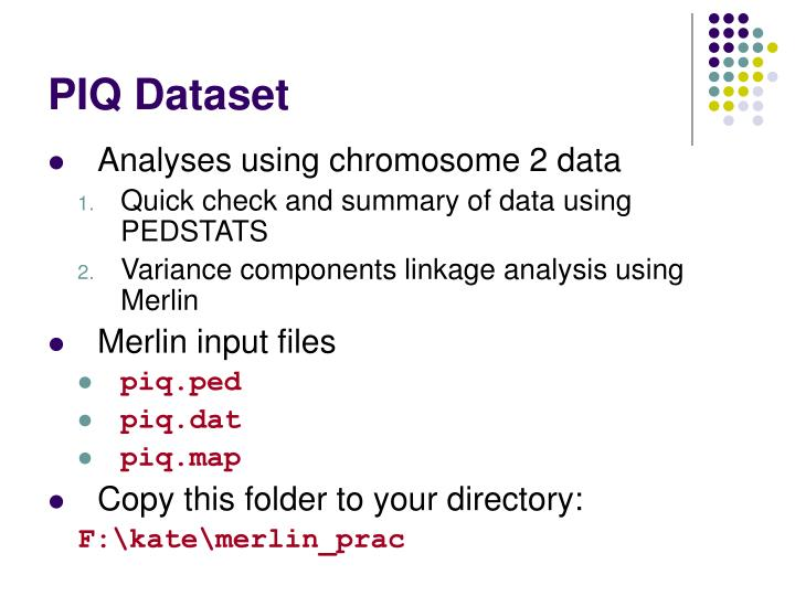 PIQ Dataset