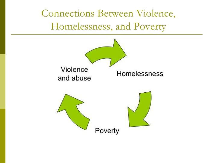 Connections Between Violence, Homelessness, and Poverty