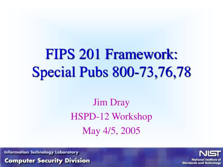 FIPS 201 Framework: