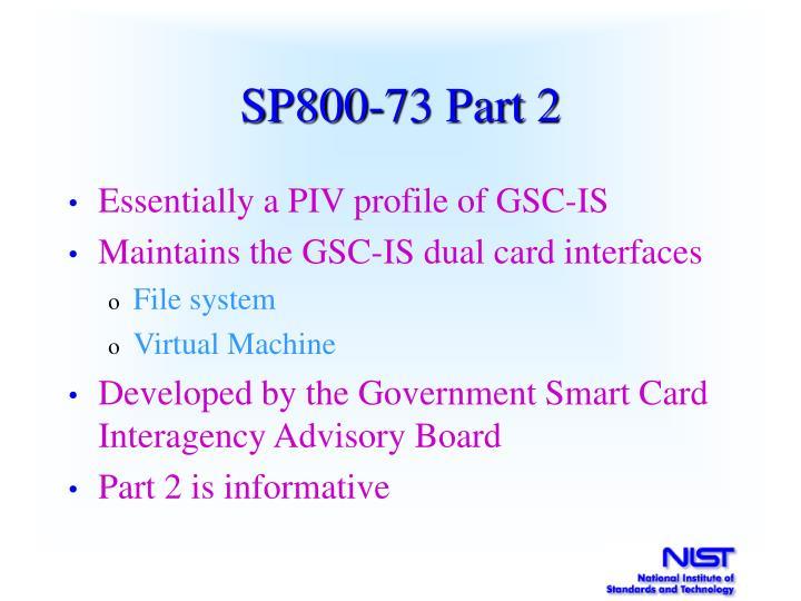 SP800-73 Part 2