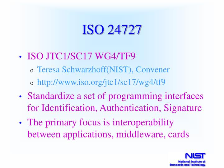 ISO 24727
