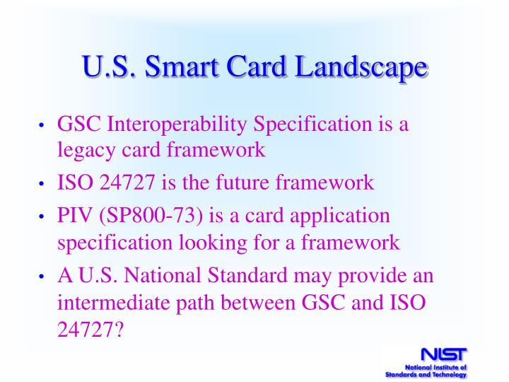 U.S. Smart Card Landscape