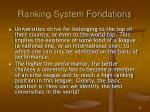 ranking system fondations1