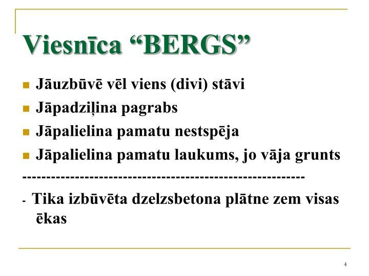 """Viesnīca """"BERGS"""""""