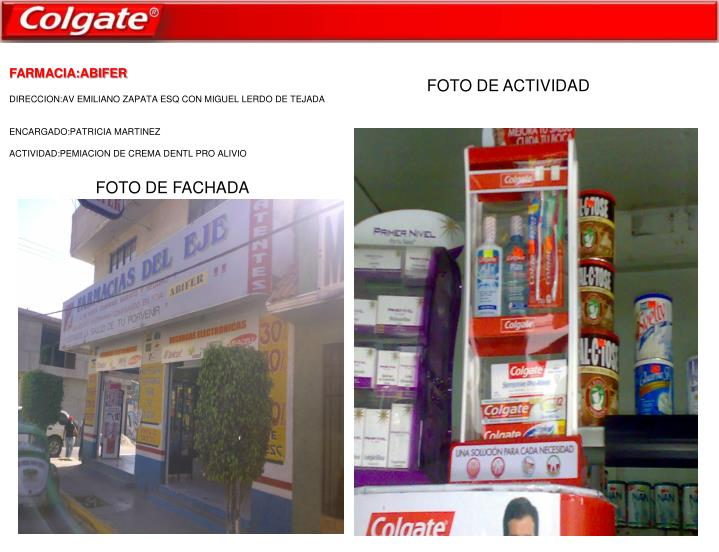 FARMACIA:ABIFER