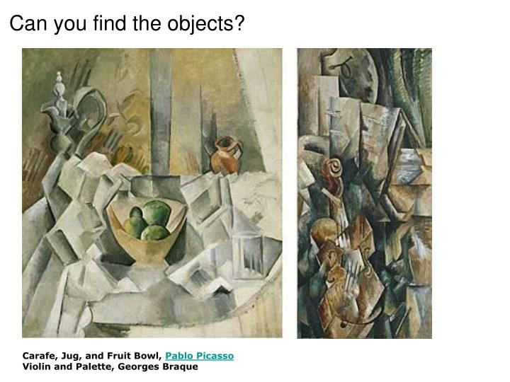 Can you find the objects?