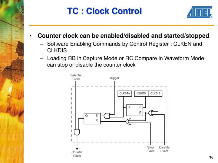 TC : Clock Control