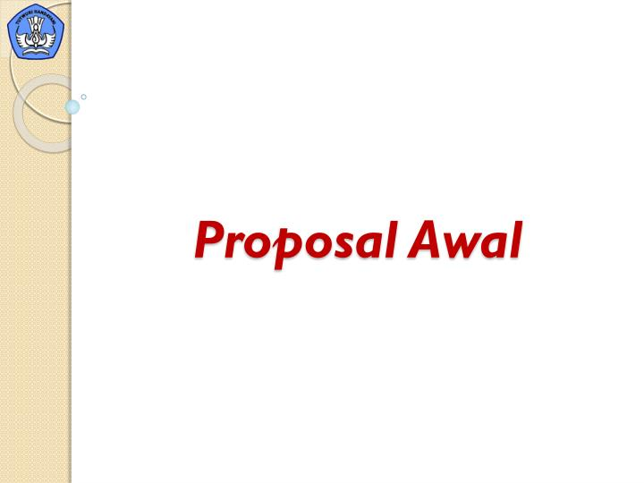 Proposal Awal