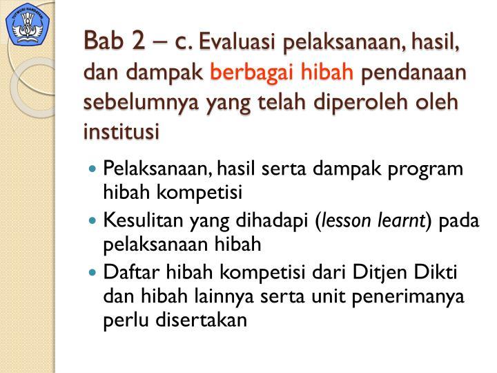 Bab 2 – c.