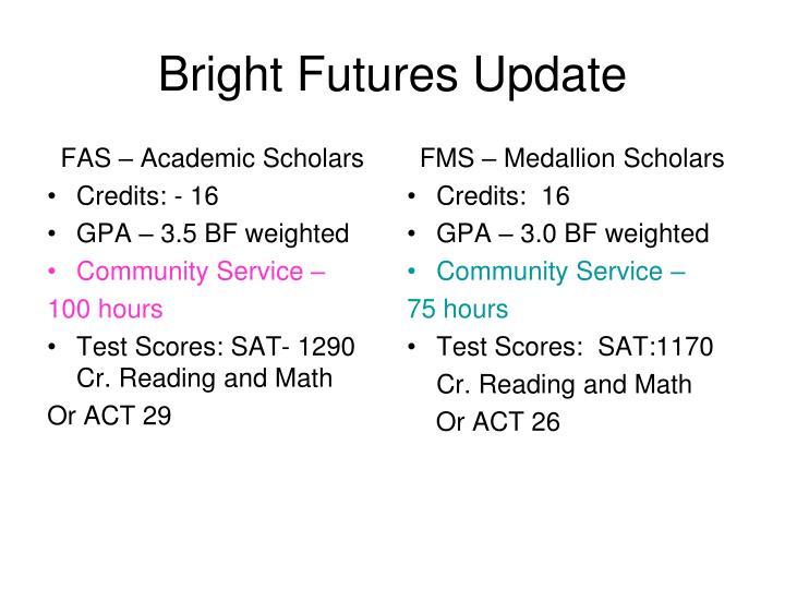 FAS – Academic Scholars