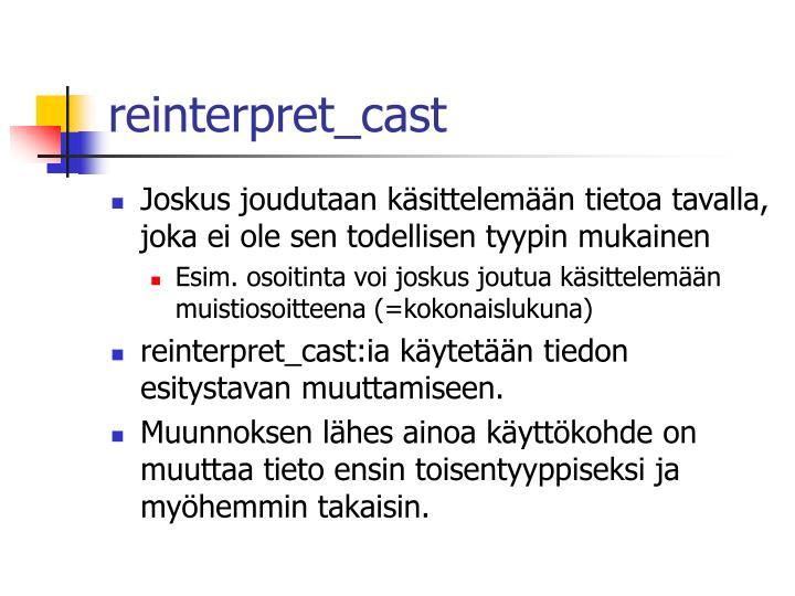 reinterpret_cast