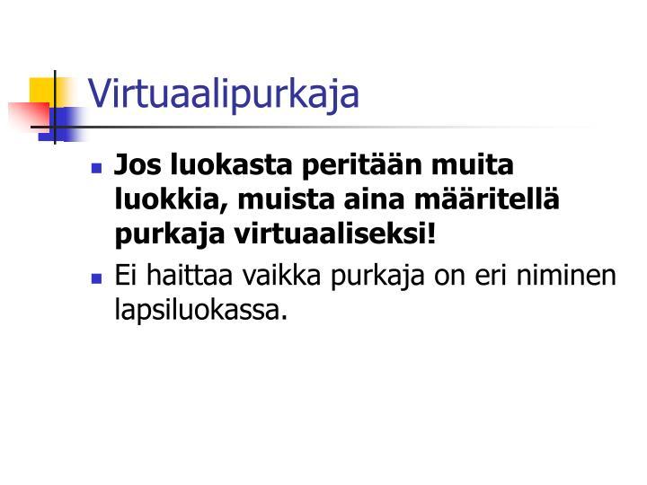 Virtuaalipurkaja