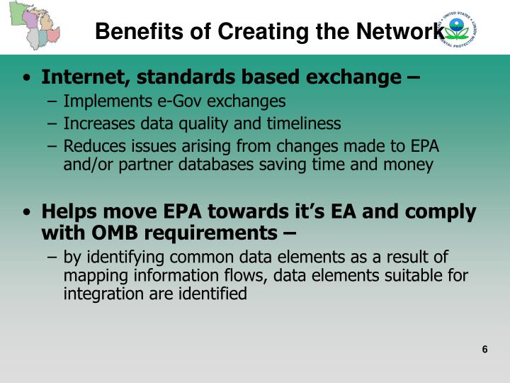 Benefits of Creating the Network
