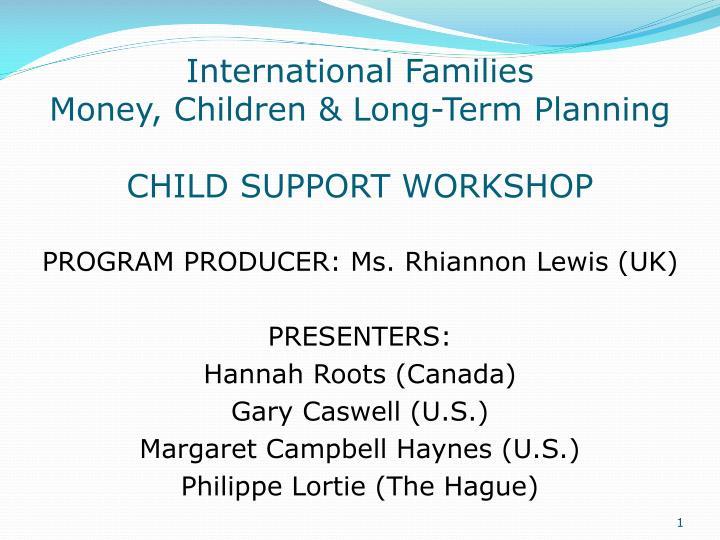International Families