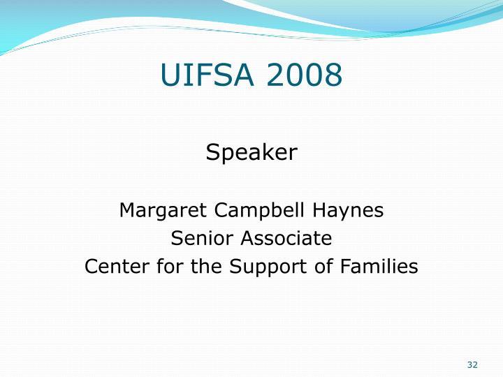 UIFSA 2008