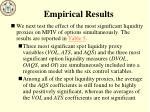 empirical results1