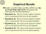 empirical results4