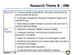research theme b dmi