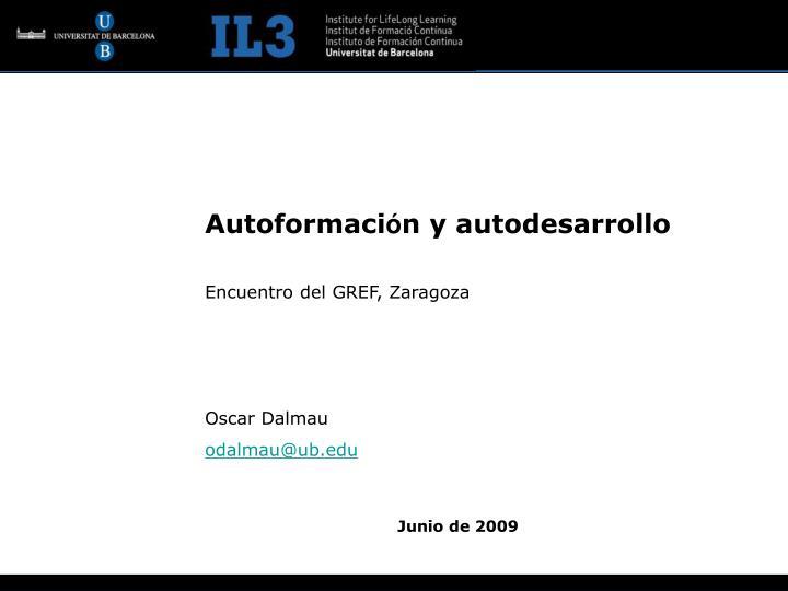 Autoformaci