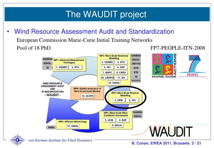 The WAUDIT project