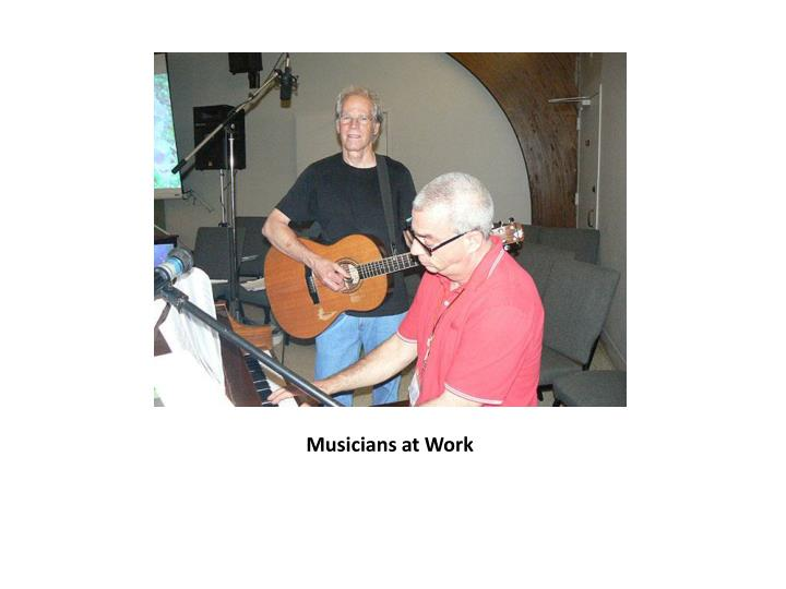 Musicians at Work
