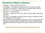 brantford s waste collection