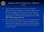 applicant new va volunteers affiliates cont1
