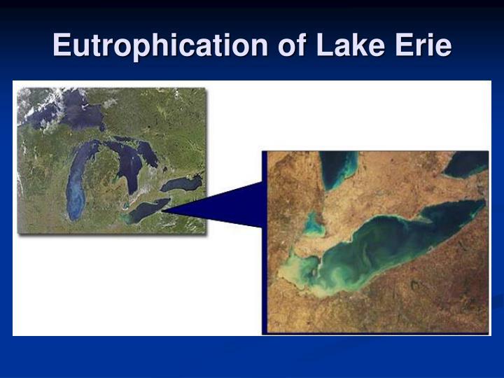 Eutrophication of Lake Erie