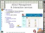 aiole management interaction services