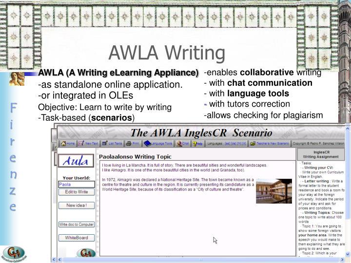 AWLA Writing