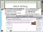 awla writing
