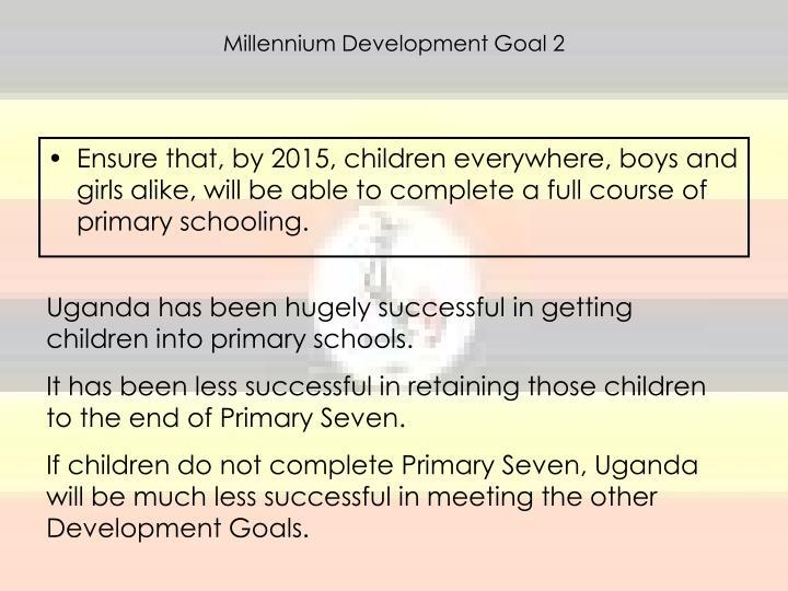 Millennium Development Goal 2
