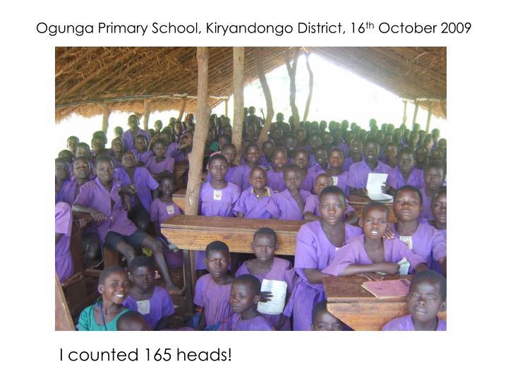 Ogunga Primary School, Kiryandongo District, 16