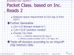 bit parallelism paper algorithm 2 packet class based on inc reads 2