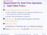 bit parallelism paper requirement for real time operation 2 hash table prob s