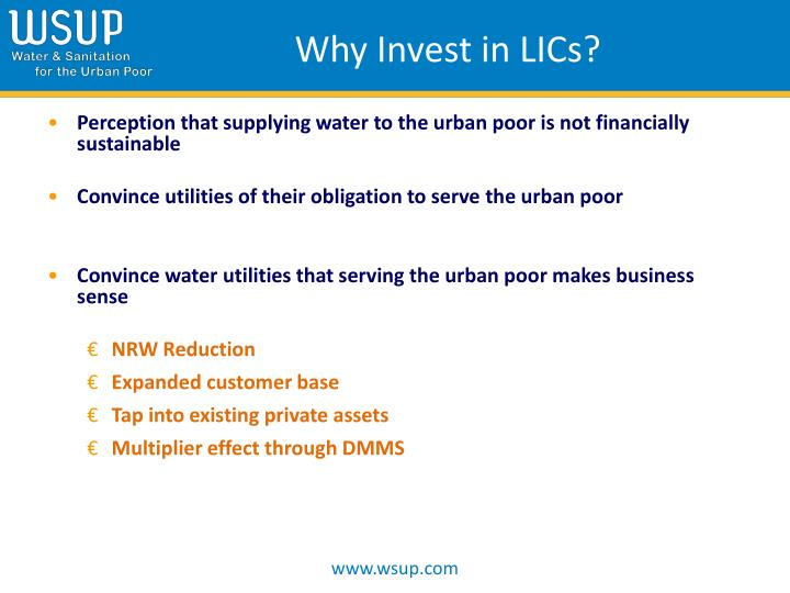 Why Invest in LICs?