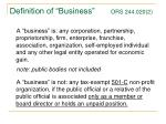 definition of business ors 244 020 2