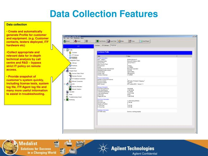 Data Collection Features