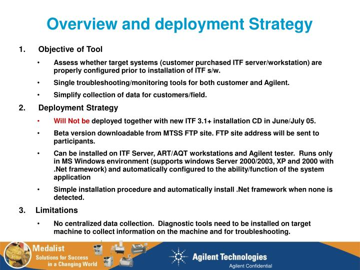 Overview and deployment Strategy