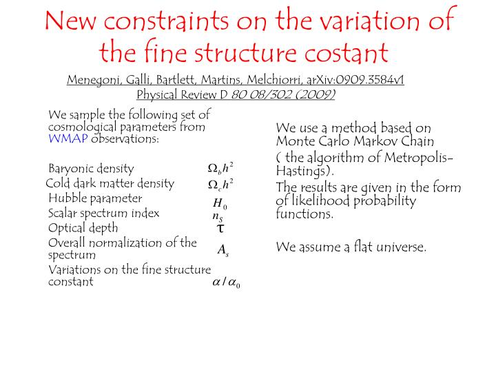 We sample the following set of  cosmological parameters from