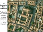 1 3 3 convento san francesco pedestales con bustos primeros juristas famosos vista cenital