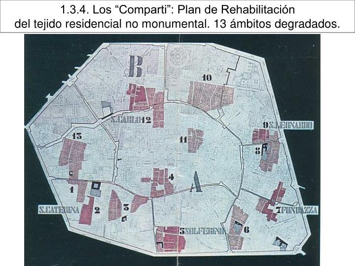 """1.3.4. Los """"Comparti"""": Plan de Rehabilitación"""